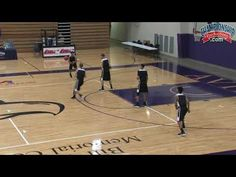 This basketball article discusses the high stack offense with several plays presented. Basketball Videos, Basketball Plays, Basketball Skills, Basketball Coach, Basketball Conditioning, Mike Krzyzewski, Gregg Popovich