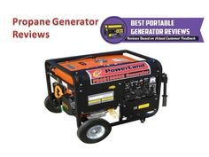 Propane generator is the best portable generator for used anywhere when you need power. According to propane generator reviews propane generator does not spoil, easier cold-starting, much cleaner burning. So for more review on propane generator visit our site.http://www.bestportablegeneratorsreviewsonline.com/about/