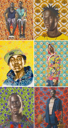 nakimuli:  love kehinde's work. ____________________________________________________ buttahlove:  blackgirlphresh:  kehinde wiley is the truth.   One of my favorite artists.