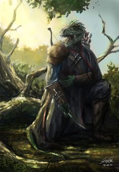 Argonian Assassin by Entar0178.deviantart.com on @DeviantArt