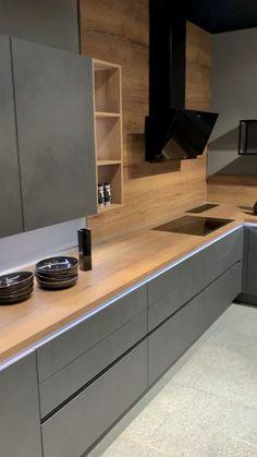brilliant kitchen corner storage 2 ~ Home Design Ideas Kitchen Pantry Design, Modern Kitchen Cabinets, Home Decor Kitchen, Interior Design Kitchen, Home Kitchens, Small Kitchens, Kitchen Islands, Kitchen Designs, Modern Grey Kitchen