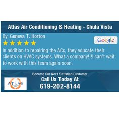 In addition to repairing the ACs, they educate their clients on HVAC systems. What a...
