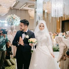 Insurance is a contract, represented by a policy, in which an individual or entity receives financial protection or reimbursement against losses from an insurance company. Muslim Wedding Gown, Kebaya Wedding, Muslimah Wedding Dress, Muslim Wedding Dresses, Hijab Bride, Muslim Brides, Wedding Attire, Bridal Dresses, Wedding Gowns