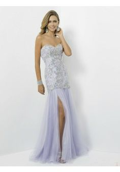 Sheath/Column Strapless Sleeveless Tulle Lavender Prom Dress With Beading #FJ037 - See more at: http://www.victoriasdress.com/prom-dresses/long-prom-dresses.html?p=5#sthash.EFmdZZxM.dpuf