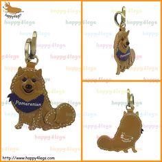 Pomeranian Genuine Leather Bag Charm http://www.happy4legs.com/#!pomeranian-bag-charm-1/m2inr