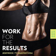 Eat clean, train hard, move forward