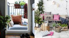 Ideas para aprovechar (y decorar) balcones pequeños - Contenido seleccionado con la ayuda de http://r4s.to/r4s