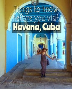 Heading to Havana? Before you go to the Cuban capital, read this  travel guide to things you should know before going. Cuba has just become a lot more accessible to travellers and backpackers, but its still hard to find easy to digest info.