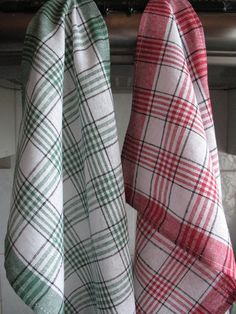 Cotton Dish Towels Tea Towels set of 2 by Coloredworld on Etsy, $5.90