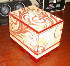 ALTERED CIGAR BOX (OUTSIDE) - Scrapbook.com