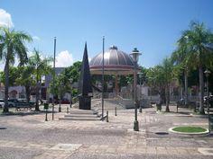 Plaza publica de Cataño, Puerto Rico.
