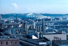 The Kingdome, September 1976. Seattle Municipal Archives Photograph Collection