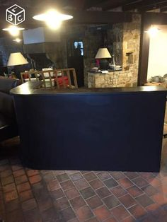 Comptoir tag res ancien caf bar estaminet ameublement for Leboncoin moselle ameublement