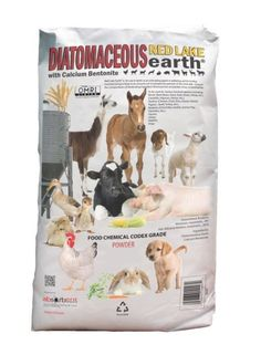 Absorbent Products Red Lake 40lb. Diatomaceous Earth Powder W104