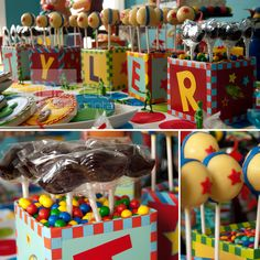 Treats at a Toy Story Party #toystory #party