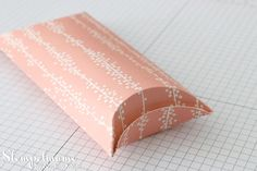 Stampin' Up! Anleitung Tutorial Pillow Box - | Basteln mit Stempelmami