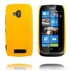 Hard Shell (Gul) Nokia Lumia 610 Cover