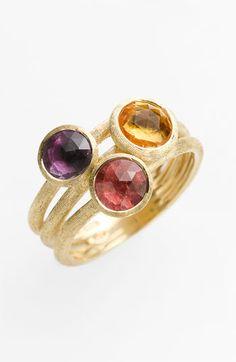 Marco Bicego 'Jaipur' 3-Stone Ring