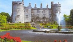 Kilkenny Castle in Kilkenny, Ireland