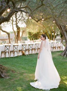 Bride Drop Waist Wedding Dress, Perfect Wedding Dress, Elegant Wedding Gowns, Wedding Dress Styles, Wedding Weekend, Our Wedding Day, Monique Lhuillier Dresses, Ribbon Bouquet, Destination Wedding Photographer