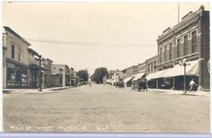Alton Sioux County Iowa  L.L. Cook postcard