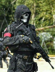 One of the reasons I love Airsoft! You can look bad ass as f**k!