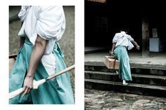 A dream-like gallery by Dawid Rus that takes us through Tokyo, Osaka, Nara, and Kyoto. Japan Photo, Photo Series, Nara, Kyoto, Tokyo, Midi Skirt, Gallery, Inspiration, Fashion