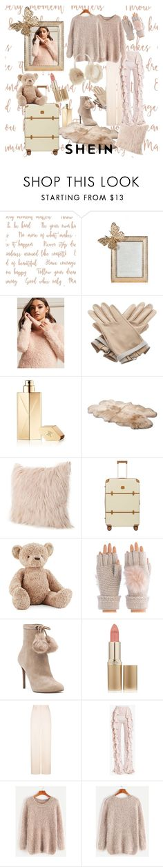 """""""shein"""" by jannatqtr ❤ liked on Polyvore featuring Jay Strongwater, Forever 21, Hermès, Maison Francis Kurkdjian, UGG, Bric's, Jellycat, Shiraleah, MICHAEL Michael Kors and L'Oréal Paris"""
