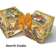 Alice in Wonderland gift box Instant download by Raidersofthelostart on Etsy https://www.etsy.com/au/listing/99995127/alice-in-wonderland-gift-box-instant