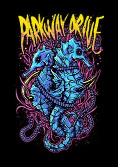 Parkway Drive (merch design)