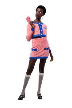 Sweater Set, Pink Blue, Navy, Style, Fashion, Hale Navy, Swag, Moda, Fashion Styles