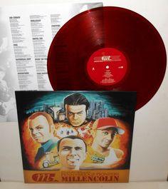 MILLENCOLIN pennybridge pioneers LP Record BROWN Vinyl with lyrics insert #punk