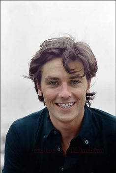 French actor Alain Delon