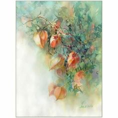 Watercolor Flowers, Watercolor Paintings, Acrylic Painting Techniques, Various Artists, Rose, Still Life, Art Gallery, Projects To Try, Drawings