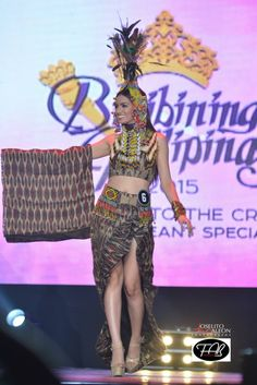 TIBOLI TRIBE COSTUME Tribal Outfit, Tribal Costume, Ethnic Outfits, Fashion Outfits, Filipiniana Dress, Filipino Fashion, Philippines Culture, Filipino Tribal, Filipino Culture