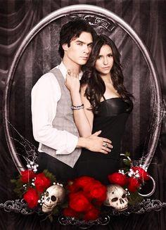 Damon and Elena | The Vampire Diaries