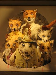 Fantastic Mr Fox (2009) -  A brilliant expretion of Wes Andersons Style, useing animation to it's fullist.