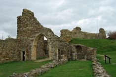 english castles pictures | Hastings Castle, East Sussex England