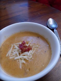 Yeast free recipes - Barbecue Bacon Cheeseburger Soup