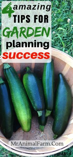 Garden Planning. Garden Planning used to feel like an overwhelming monster. But we have broken garden planning down into 4 easy to follow steps to guarantee your gardening success!