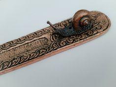 Snail Incense Stick Holder & Ash Catcher - No Sticks Included #Unbranded #Any