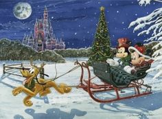 Disney Fine Art by David Doss