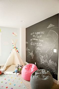 11 Kids Playroom With Tent Decorations