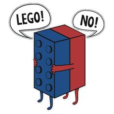 #Lego No #Funny Shirt and Stickers #movie