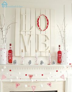 Valentines mantle