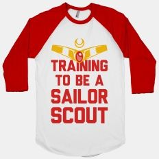 Training To Be A Sailor Scout | HUMAN | T-Shirts, Tanks, Sweatshirts and Hoodies