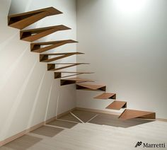 "MARRETTI - ""Origami"" Stairs made in Florence, Italy www.marrettiscale.it"
