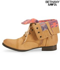 Southwest Fold-Over Combat Boot