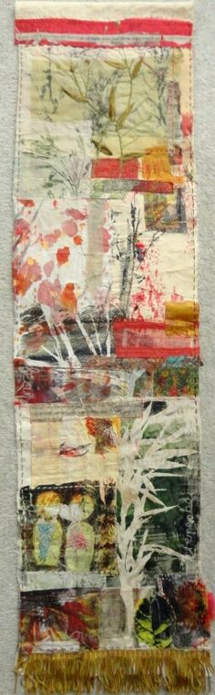 Original pinner says: Piece about my father, inspired from a Cas Holmes workshop