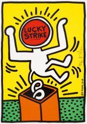 Haring, Keith (1958 Kutztown - 1990 New York). Lucky Strike